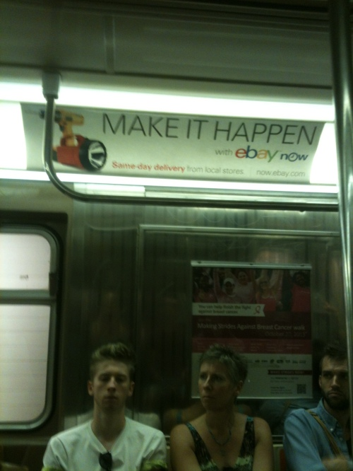 Make it Happen on the subway